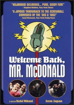 Welcome Back Mr McDonald-